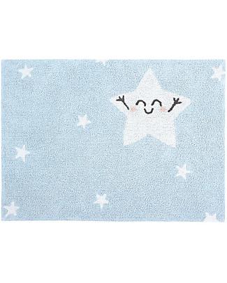 Lorena Canals Washable Rug Happy  Star - 100% cotton (120x160 cm) Carpets