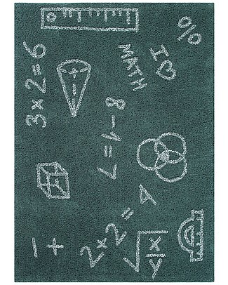 Lorena Canals Washable Rug I Love Math, Back to school - 100% Cotton (140 x 200 cm) null