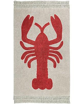 Lorena Canals Washable Rug Lobster - 100% Cotton (140x200cm) Carpets