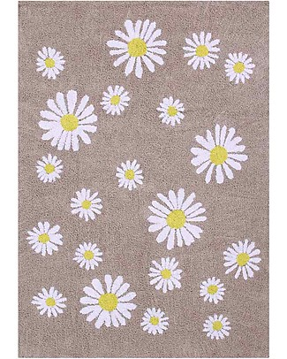 Lorena Canals Washable Rug OhJoy, Happy Daisies - 100% Cotton (140 x 200 cm) Limited edition! null