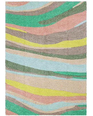 Lorena Canals Washable Rug OhJoy, Happy Hills - 100% Cotton (140 x 200 cm) Limited edition! null
