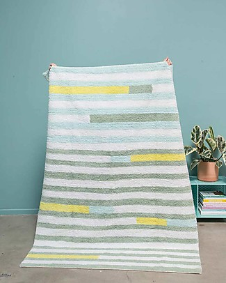 Lorena Canals Washable Rug OhJoy, Happy Lanes - 100% Cotton (140 x 200 cm) Limited edition! Carpets