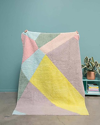 Lorena Canals Washable Rug OhJoy, Happy Prism - 100% Cotton (140 x 200 cm) Limited edition! Carpets