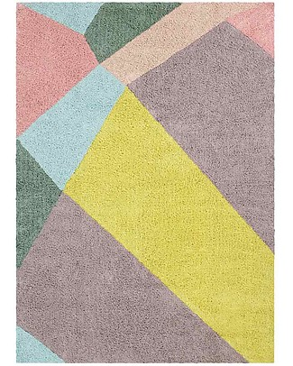 Lorena Canals Washable Rug OhJoy, Happy Prism - 100% Cotton (140 x 200 cm) Limited edition! null
