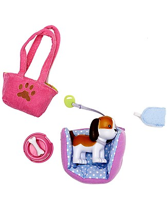 Lottie Biscuit the Beagle Dog Accessory Set, for Autumn Leaves Lottie Doll Dolls Accessories