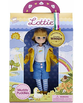 Lottie Muddy Puddles Lottie Doll Dolls