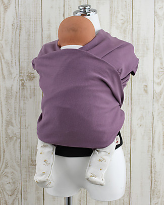 Lucky Baby Easy Fit Baby Wrap - PITTARi - Mauve Baby Slings