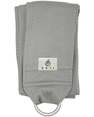 Lucky Baby Lightweight Baby Sling - SUKKIRi - Ideal for Summer - Grey Baby Slings