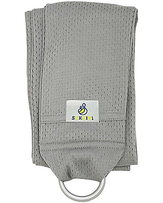Lucky Baby OUTLET - Lightweight Baby Sling - SUKKIRi - Ideal for Summer - Grey Baby Slings
