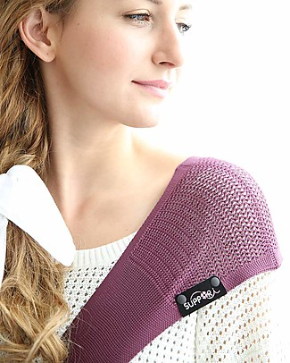 Lucky Baby Ultra Light Baby Sling - SUPPORi - Fits in your Pocket - Mauve Baby Slings