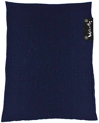 Lucky Baby Wacotto, 2-in-1 Baby Carrier, Navy Blue - 6-36 mths - Also great as infinity scarf! Baby Slings