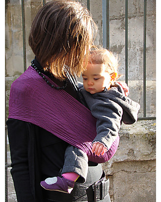 Lucky Wacotto, 2-in-1 Baby Carrier, Magenta – Also great as infinity scarf! Baby Slings