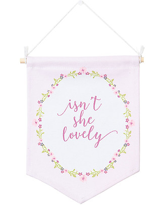 Lulujo Baby Hanger - Isn't She Lovely Room Decorations