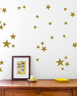 Made of Sundays Stars Wall Stickers – Responsible & Safe! Wall Stickers