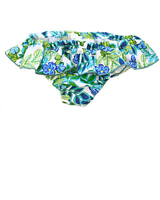 Maghi e Maci Firenze Girl's Swim Pants Floral/Green - 100% Cotton, Hand  Made in Florence Bikinis And Tankinis