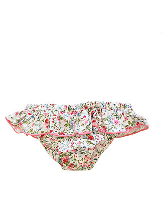 Maghi e Maci Firenze Girl's Swim Pants Floral/Pink - 100% Cotton, Hand  Made in Florence Bikinis And Tankinis