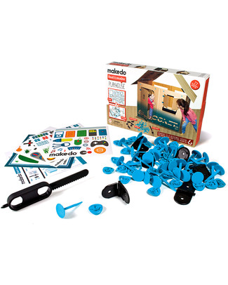 MakeDo Find and Make Kit - Playhouse (recycle and repurpose creatively) Art & Craft Kits