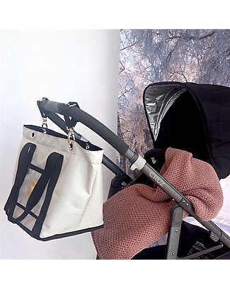 MAMI Pair of Hooks for Mami Changing Bag - Suitable for any stroller! Diaper Changing Bags & Accessories