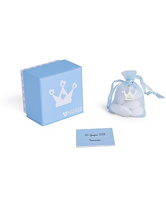 MAMIJUX Baby Bonbonniere Kit, Blue - Perfect for baby shower Party Favours