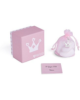 MAMIJUX Baby Bonbonniere Kit, Pink - Perfect for baby shower Party Favours