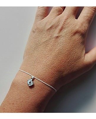 MAMIJUX Little Feet Natural Bracelet, Make a Wish - For Mother-to-be Bracelets