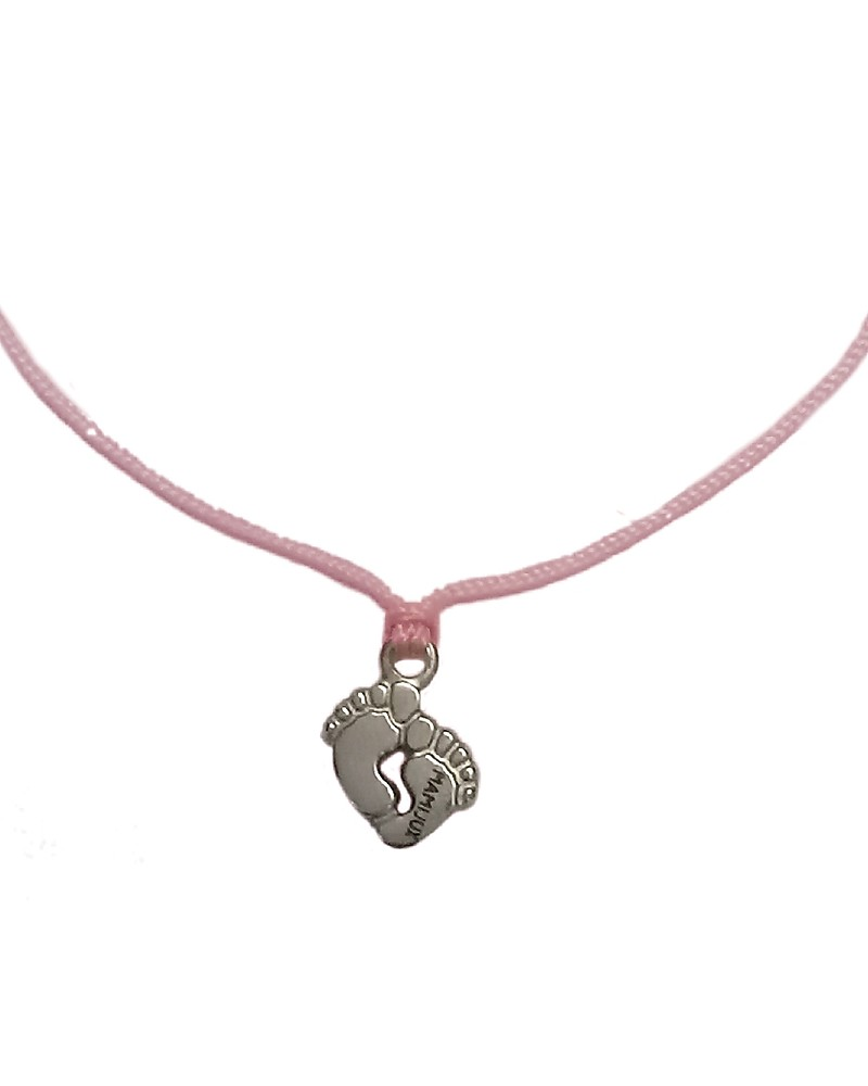 Mamijux Little Feet Pink Bracelet Make A Wish For Mother To Be