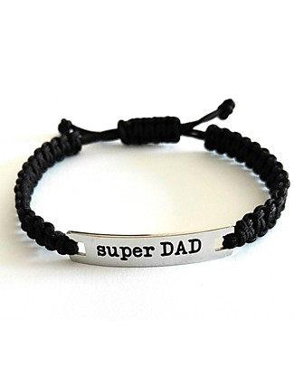 MAMIJUX M'AMI Tag Bracelet, Super DAD – The sweetest gift for dads! Bracelets