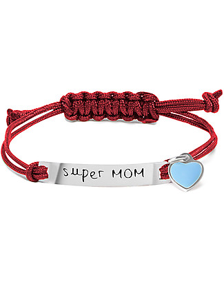 MAMIJUX M'AMI Tag Bracelet, Super MOM - What type of mum are you? Bracelets