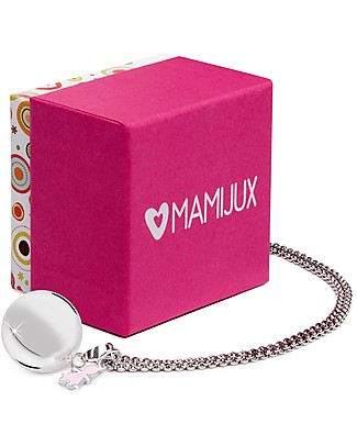 MAMIJUX Mexican Bola Pregnancy Chime - Baby Girl - Nickel Free Pregnancy Chimes