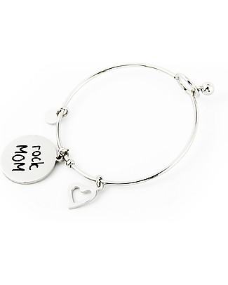 MAMIJUX Steel Bracelet M'AMI Tag New, Rock MOM - Fantastic gift idea! Bracelets