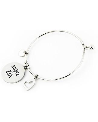 MAMIJUX Steel Bracelet M'AMI Tag New, Super Aunt - Fantastic gift idea! Bracelets