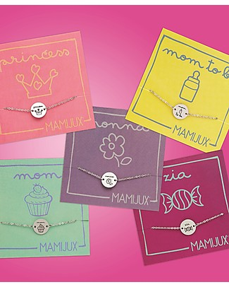 "MAMIJUX Steel Bracelet M'AMI TAG, ""Mom to be"" - for New Moms! Bracelets"