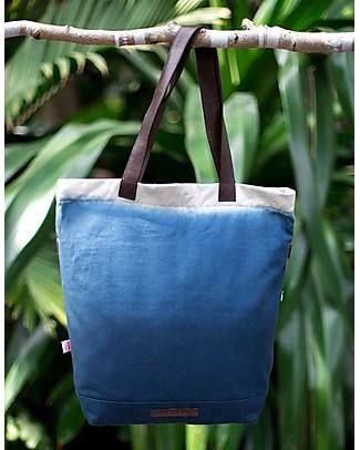 Mara Mea 4 in 1 Diaper Bag Coconut Shy, Indigo Dip Dye Diaper Changing Bags & Accessories