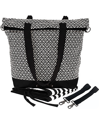 Mara Mea 4 in 1 Diaper Bag Road Trip - Water repellent cotton (multi-functional & multipocket) null
