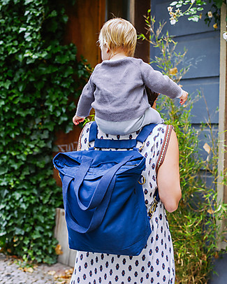 Mara Mea 4 in 1 Diaper Bag Stardust  Navy – Water Repellent Cotton Canvas (multi-functional & multipocket) Diaper Changing Bags & Accessories