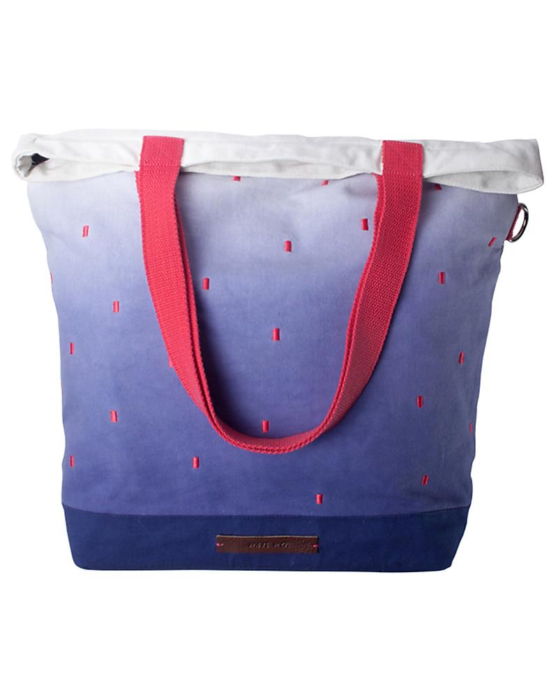 mara mea 4 in 1 diaper bag starry night blue dip dye 100 cotton canvas mu. Black Bedroom Furniture Sets. Home Design Ideas