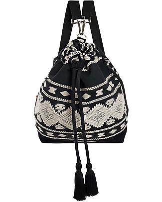 Mara Mea Bucket Diaper Bag 3-in-1 Black Sky - Cotton Diaper Changing Bags & Accessories