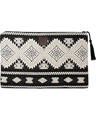 Mara Mea Cosmetic Pouch Lost Soul - Black&White - 100% Cotton Makeup Bags & Pouches