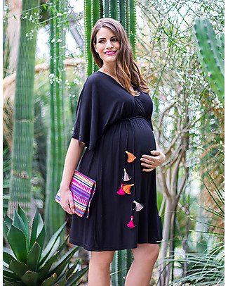 Mara Mea Dancing Beauty, Maternity and Nursing Dress, Black – Super soft viscose! Dresses