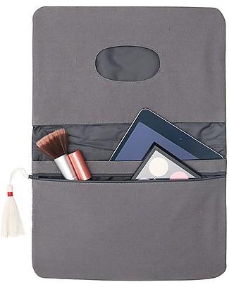 Mara Mea Diaper Clutch Afternoon Heat - Blue - Cotton  Diaper Changing Bags & Accessories
