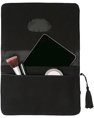 Mara Mea Diaper Clutch Coming Storm - Black/White Dots - Cotton  Diaper Changing Bags & Accessories