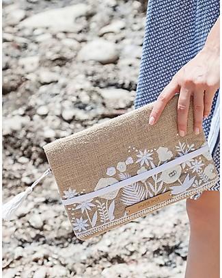 Mara Mea Diaper Clutch Little Crush - Beige - Juta Diaper Changing Bags & Accessories