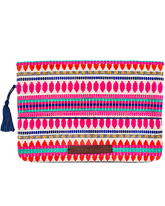 Mara Mea Diaper Clutch Machu Pichu, Multicolour Diaper Changing Bags & Accessories