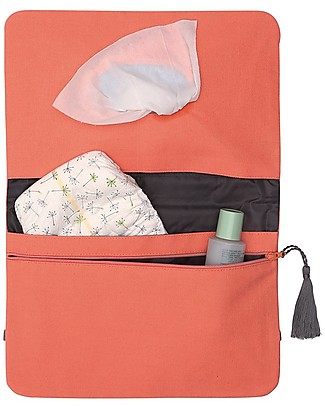 Mara Mea Diaper Clutch Mandarine Mule - Peach - Cotton  Diaper Changing Bags & Accessories