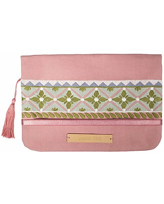 Mara Mea Diaper Clutch Morning Feed – Rosa - Cotton  Diaper Changing Bags & Accessories