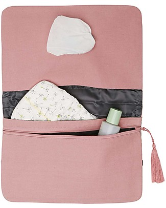 Mara Mea Diaper Clutch Morning Feed - Rosa - Cotton  Diaper Changing Bags & Accessories