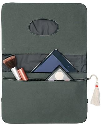 Mara Mea Diaper Clutch Olive Blossom - Olive - Cotton  Diaper Changing Bags & Accessories