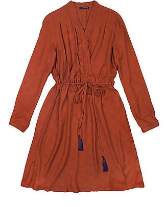 Mara Mea Pregnancy and Nursing Dress Free Spirit, Rust - 100% viscose Dresses