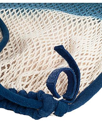 Mara Mea Stroller Net Deep Ocean, Blue Dip Dye - 100% cotton Stroller Accessories