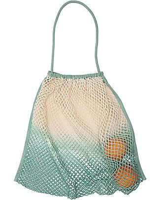 Mara Mea Stroller Net Tiny Beach, Mint Dip Dye - 100% cotton Stroller Accessories